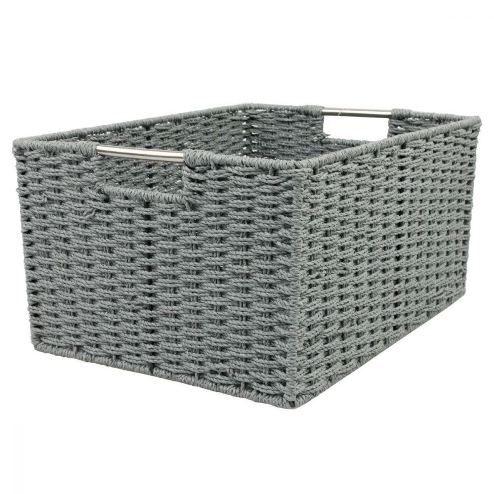 Chattel Storage Basket Grey Large