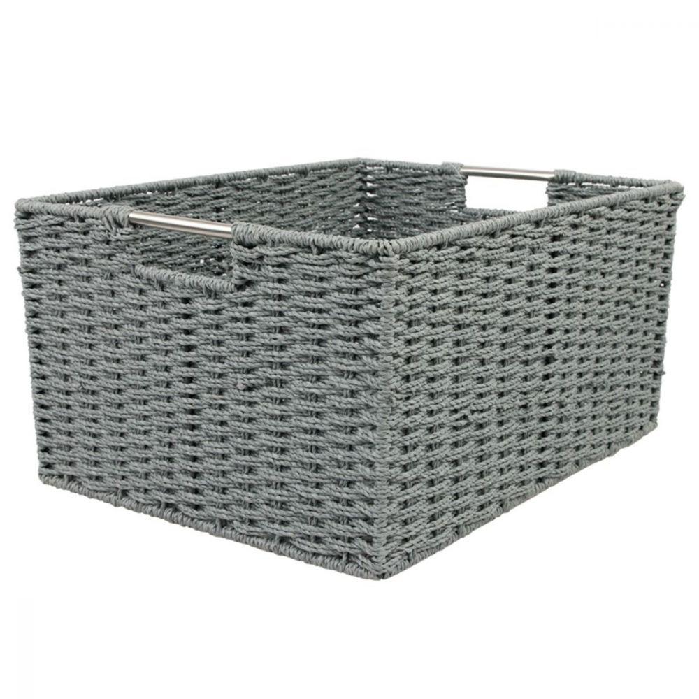 Chattel Storage Basket Grey XLarge