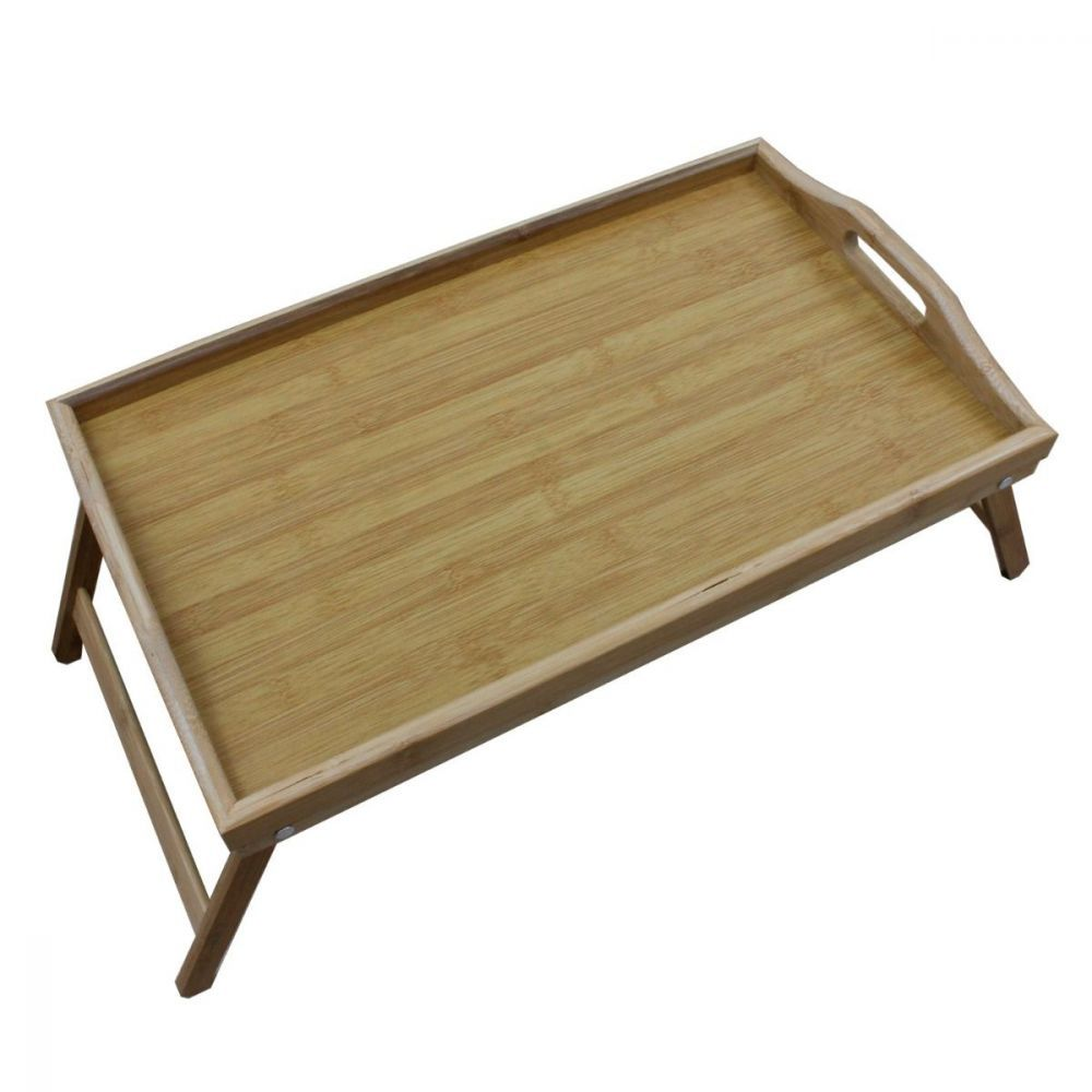 Bamboo Folding Tray Table | Furniture | Home Storage & Living