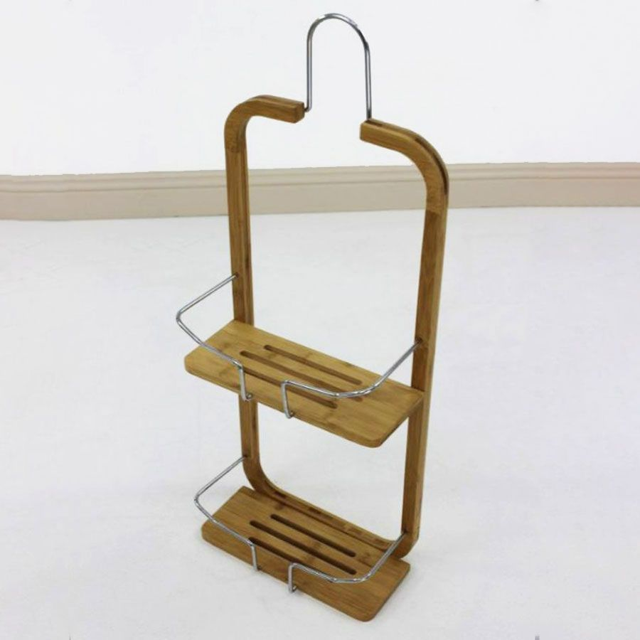 Bamboo Shower Caddy | Furniture | Home Storage & Living