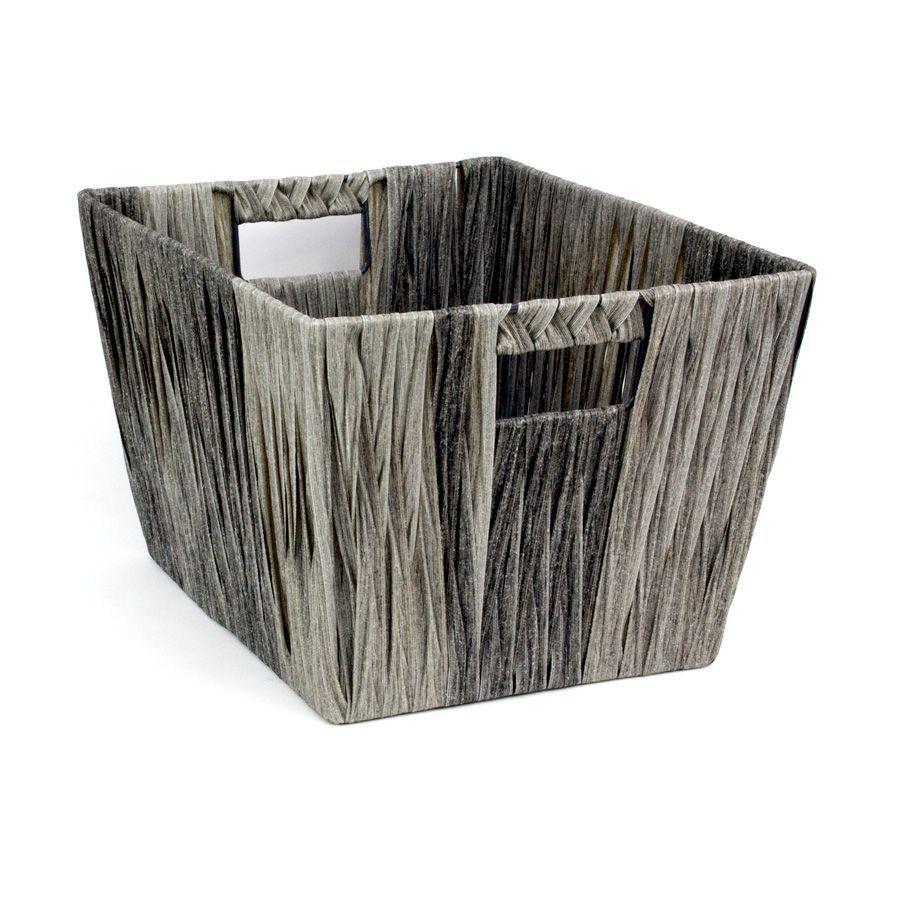 Hudson Storage Basket Grey - Set of 2 | Storage | Home Storage & Living