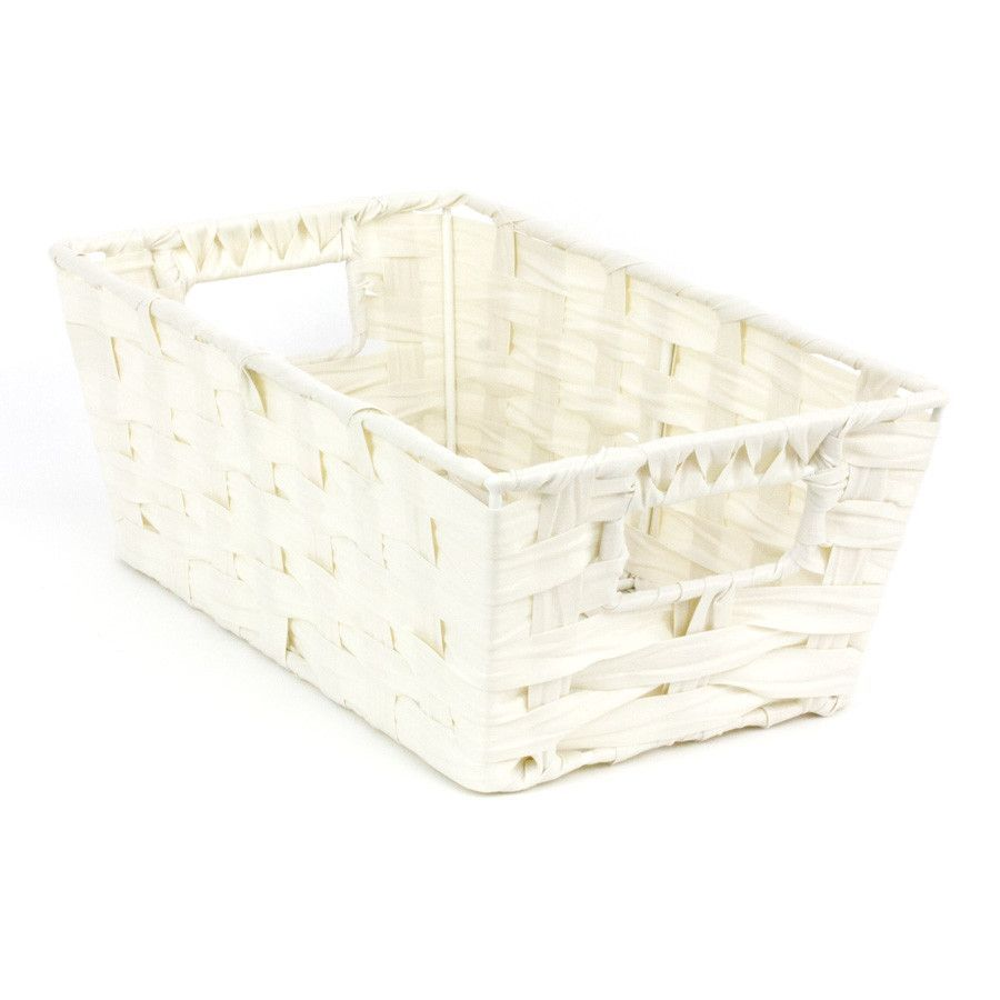 Jasper Storage Basket White | Storage | Home Storage & Living