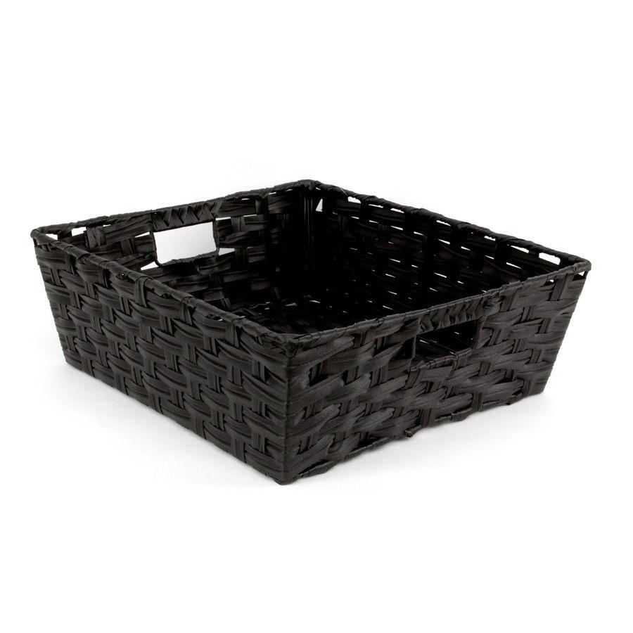 Kaia Storage Basket Black | Storage | Home Storage & Living