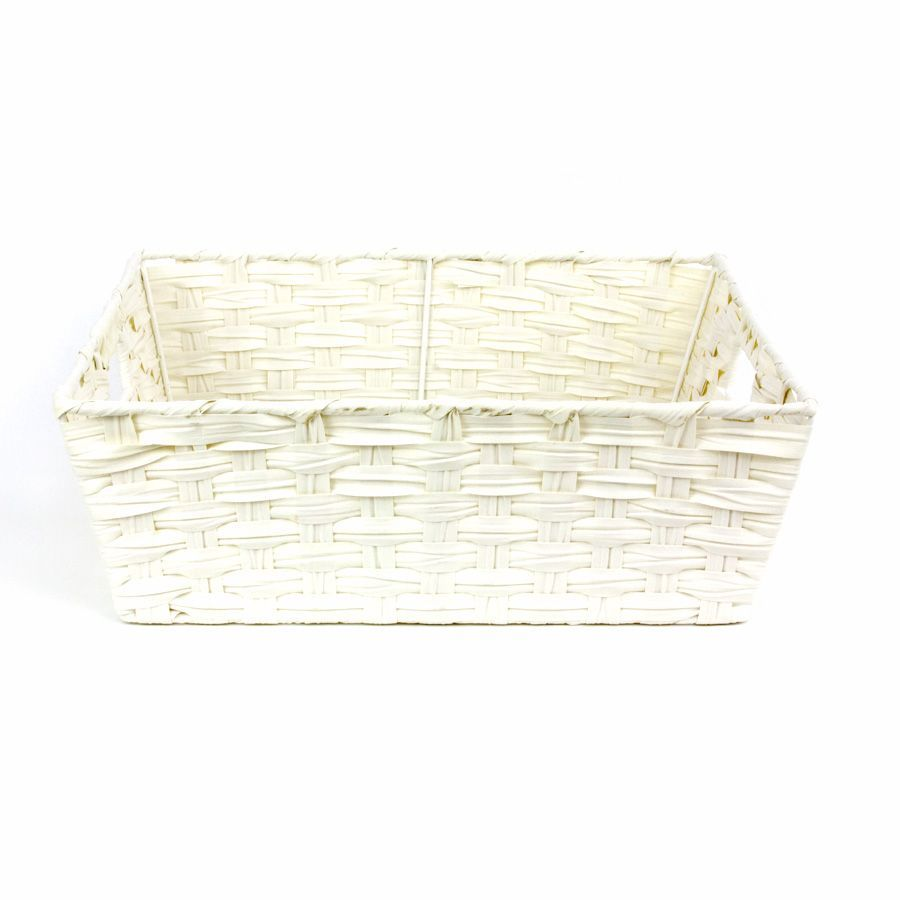 Kaia Storage Basket White | Home Storage & Living
