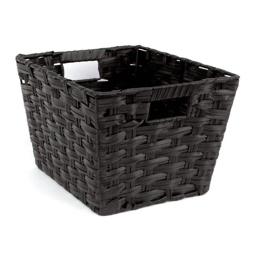Kenu Storage Basket Black - Set of 2 | Storage | Home Storage & Living