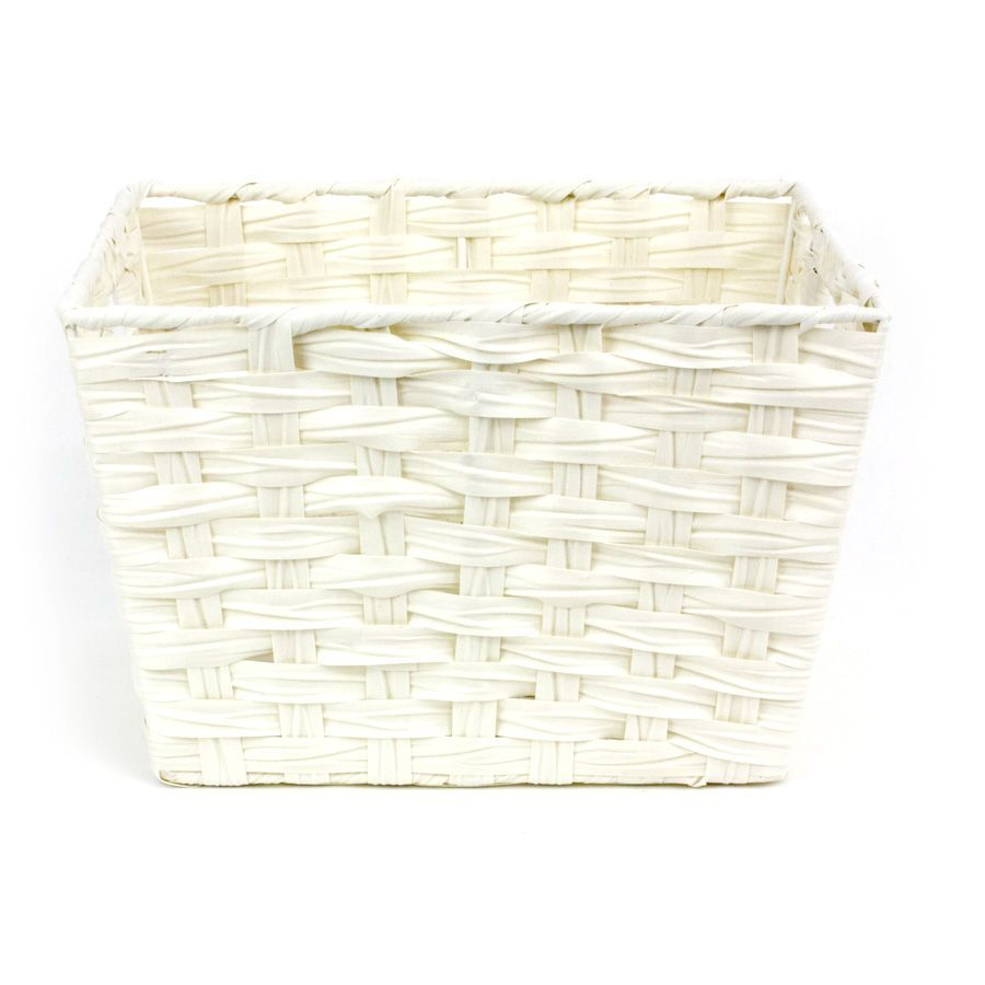 Kenu Storage Basket White - Set of 2 | Storage | Home Storage & Living