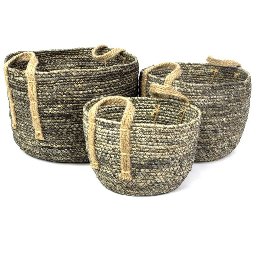 Margo Storage Basket Grey Large | Home Storage & Living