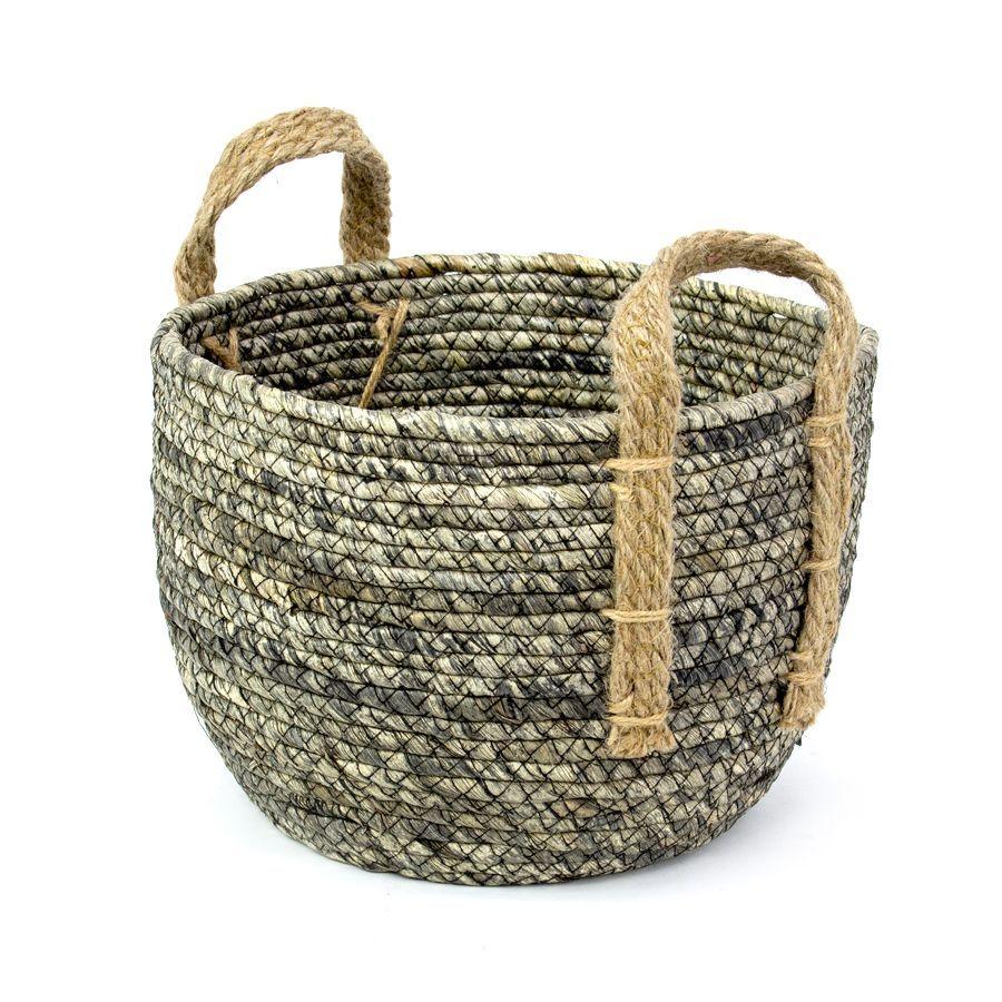 Margo Storage Basket Grey Medium | Home Storage & Living