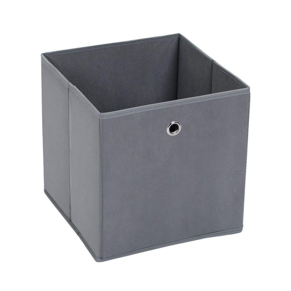 Mode Soft Storage Cube Grey 29 x 29 x 29cm | Home Storage & Living