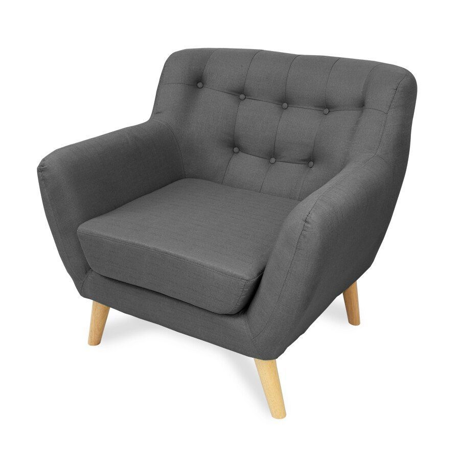 Sally 1 Seat Armchair Grey | Furniture| Home Storage & Living
