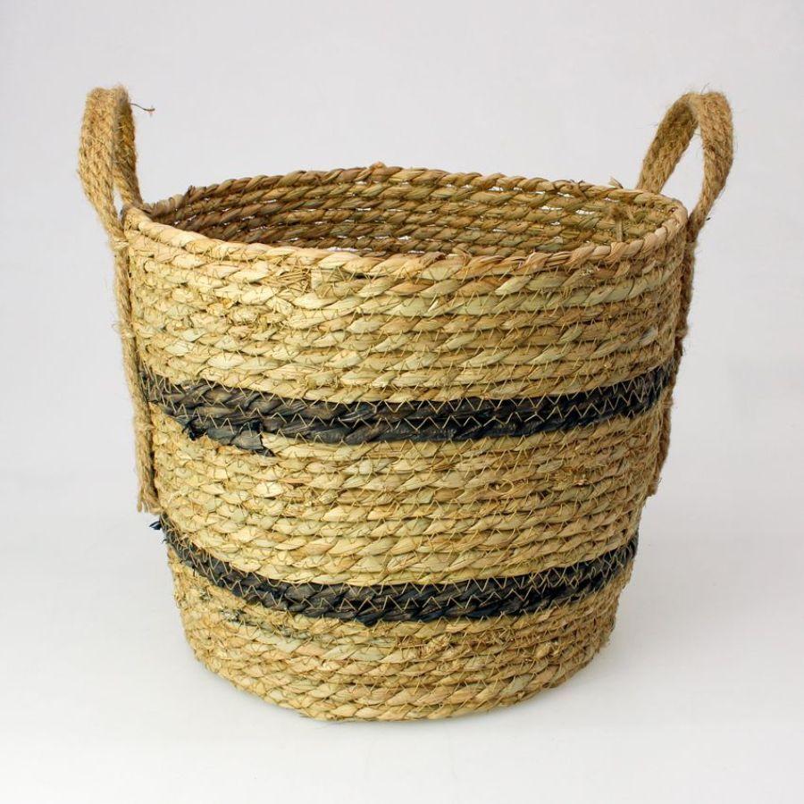 Seagrass Rope Storage Basket Natural Large | Home Storage & Living