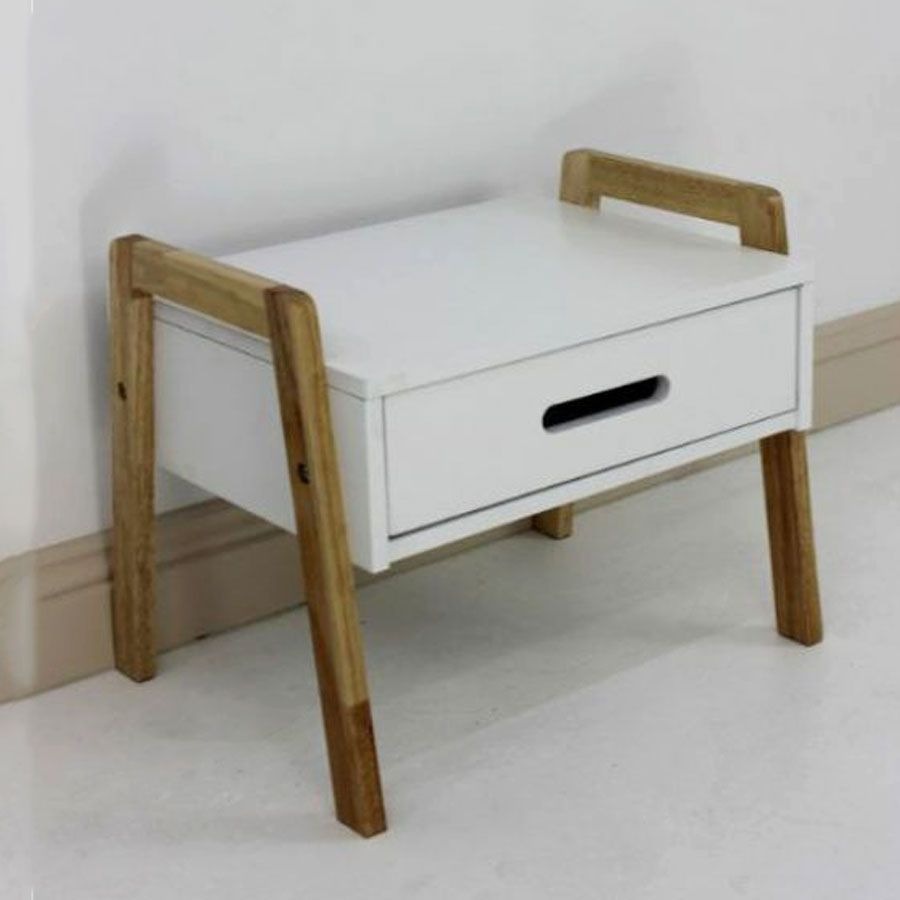 Wooden Shelving Unit with Drawer 1 Tier | Furniture | Home Storage & Living