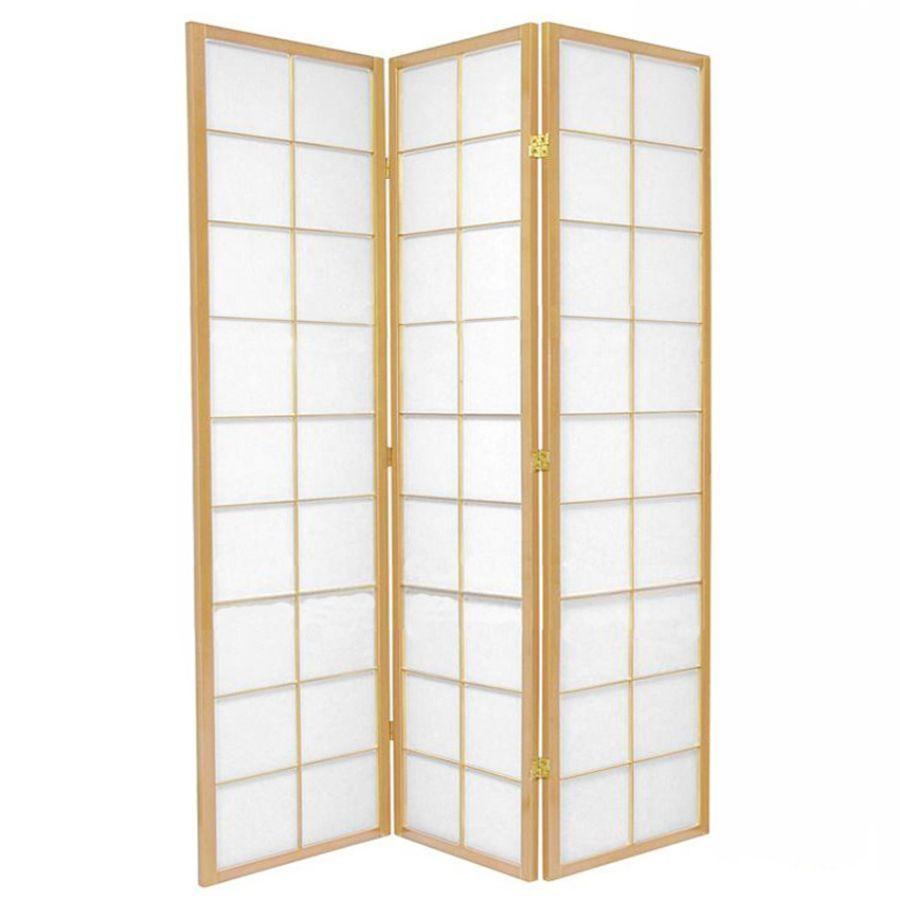 Zen Room Divider Screen Natural 3 Panel | Room Dividers & Screens | Home Storage & Living