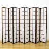 Zen Room Divider Screen Brown 8 Panel | Room Dividers & Screens | Home Storage & Living