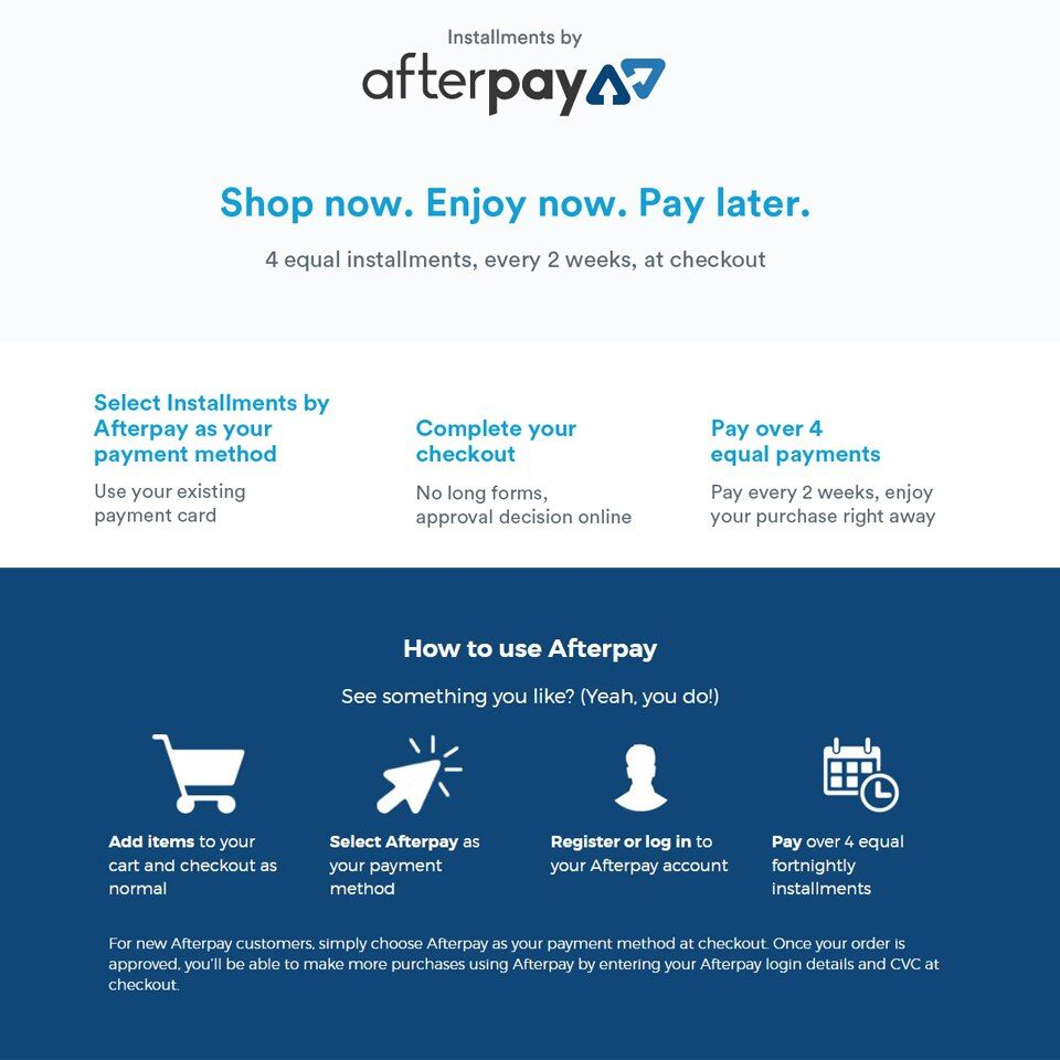 Afterpay - Buy Now, Pay Later