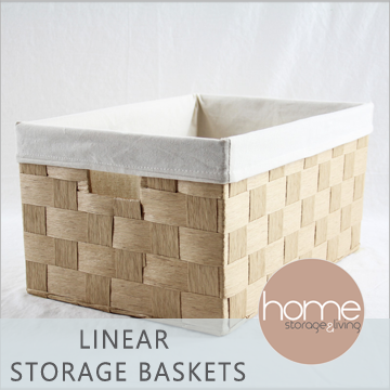 Linear Storage Baskets - Home Storage & Living