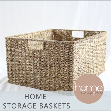 Sea Grass Storage Baskets - Home Storage & Living