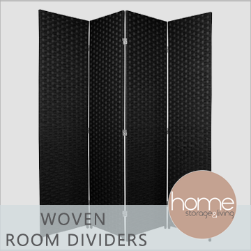 Woven Room Dividers - Home Storage & Living