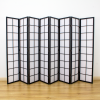 Zen Room Divider Screen Black 8 Panel   Room Dividers & Screens   Home Storage & Living